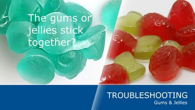4 ways to stop your oil-treated gummies from sticking