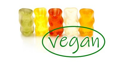 Vegan solutions for confectionery surface treatment